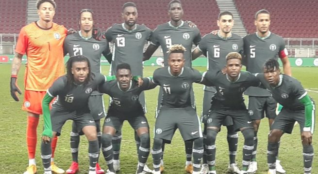 Tunisia Forces Super Eagles to a 1-1 Draw in Austria
