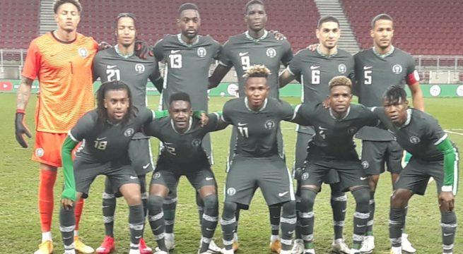 Tunisia Forces Super Eagles to a 1-1 Draw in Austria