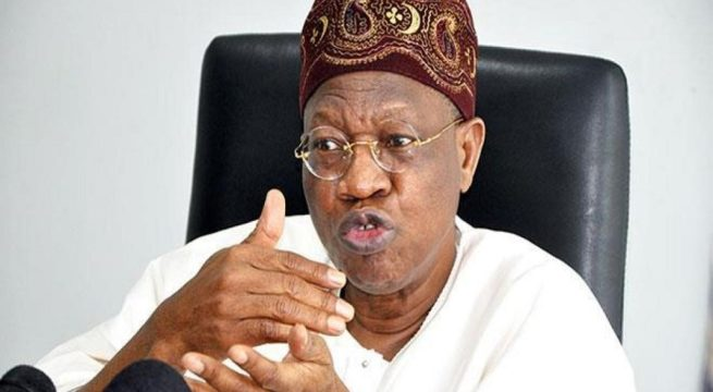 Nigeria sitting on a Keg of Gun Powder - Lai Mohammed