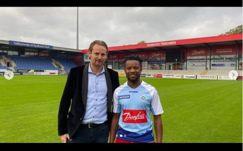 Ogenyi Onazi Completes Transfer to Danish Side, Sonderjyke