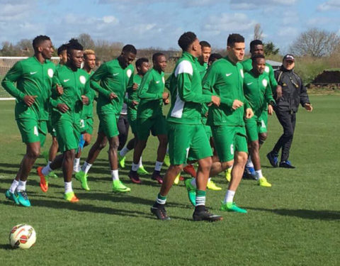 Super Eagles Ready to Tackle Algeria, Tunisia