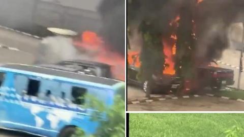 BREAKING: Hoodlums Attack TVC in Lagos