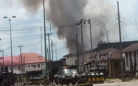 Jailbreak in Warri Prison as Inmates escape amidst Shooting and Fire Outbreak