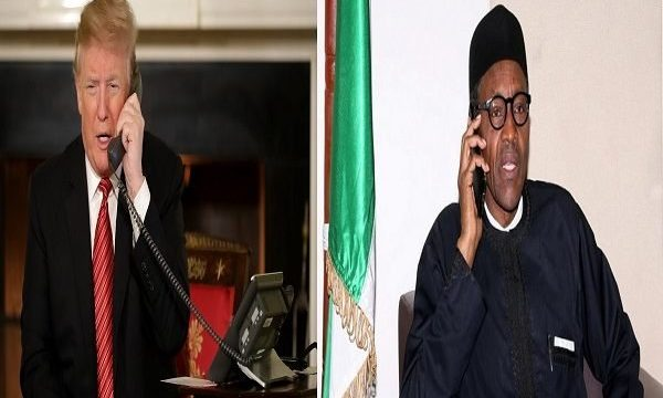 Buhari Sends Get Well Soon Message to Trump, Wife