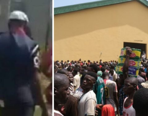 NSCDC dismisses Officer Caught on Tape for Looting COVID-19 Palliatives