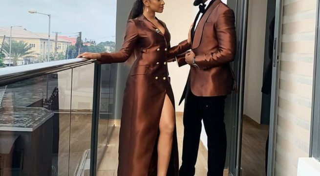 Banky W Writes Adesua Touchy Note as They Celebrate Wedding Anniversary