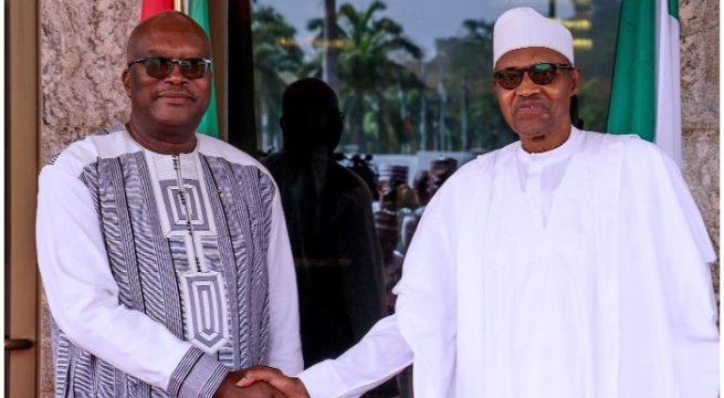 Buhari Congratulates Burkina Faso President on Electoral Victory