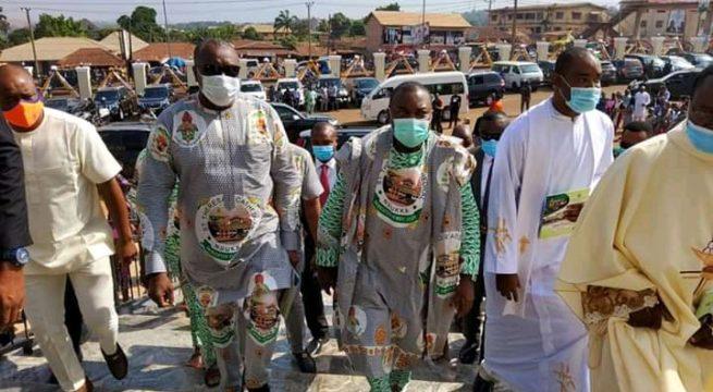 Gov. Ugwuanyi, Nwodo, Obi, 38 Bishops, Others, Grace Dedication Ceremony of Nsukka Catholic Cathedral