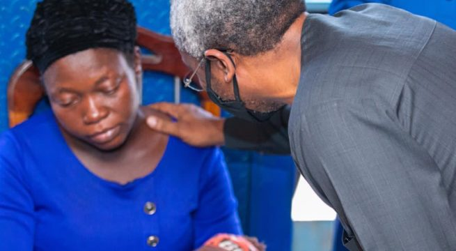 Widow of Vendor Killed by Gbajabiamila's Aide Distances Self from Family's N500m Request