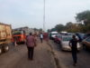 How Travelers Were Stuck at Itobe Bridge, Kogi for Several Hours (See Video)