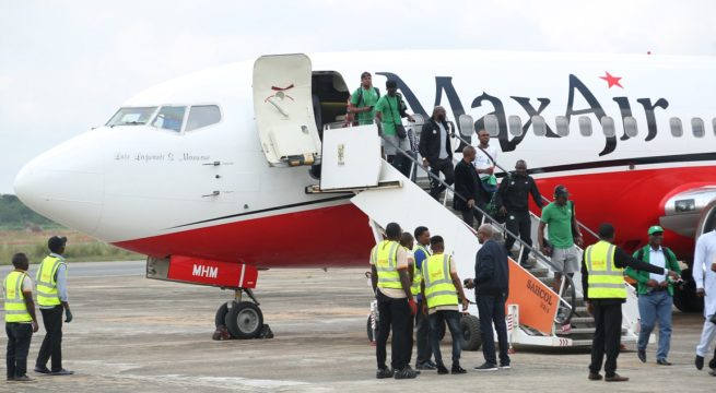 Super Eagles Depart for Freetown Today