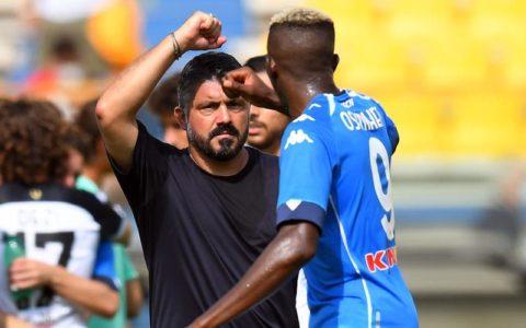 Osimhen Renders Verdict on Gattuso's Expertise