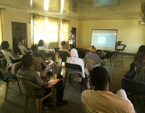 Red Cross Trains 80 on Safety, Security