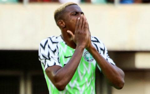 Osimhen Ruled out of Nigeria Vs Sierra Leone Encounter
