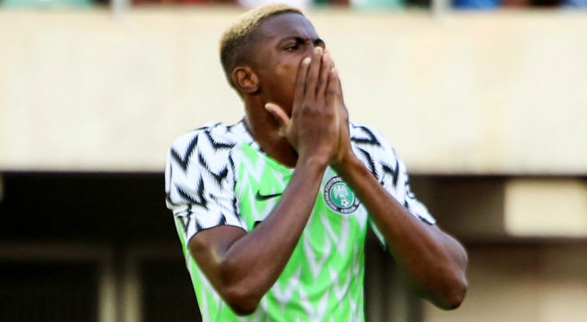 Osimhen Ruled out of Nigeria Vs Sierra Leone Encounter
