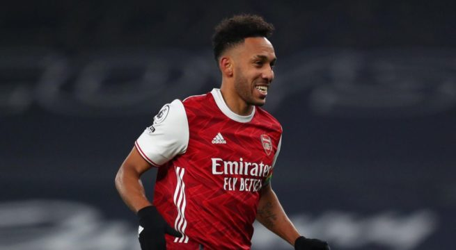 CAF Fines Aubameyang For Social Media Post