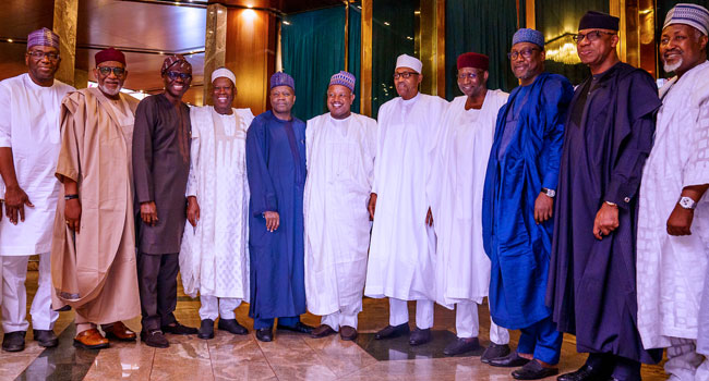 BREAKING: Buhari, Governors Meet Over Security Issues