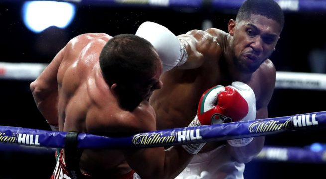 Anthony Joshua knocks Out Kubrat Pulev in Style to Retain World titles
