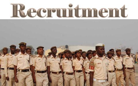 190,000 Applicants Jostle For 9,460 NIS, NSCDC Jobs