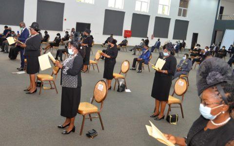 Obaseki Swears in Eight High Court Judges