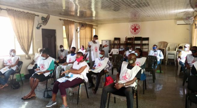 Enugu Red Cross Trains 20 Volunteers on COVID-19 Risk Communication