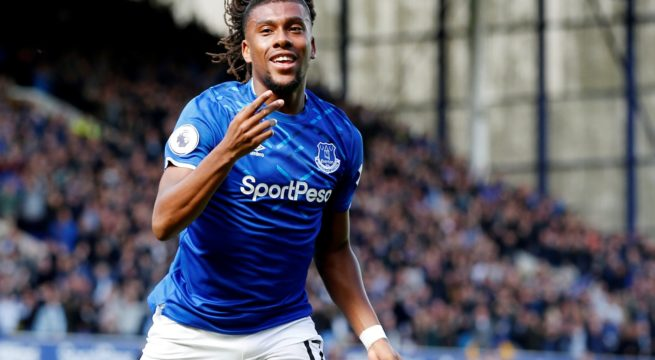 Iwobi Ends 15-month EPL Barren Spell For Everton