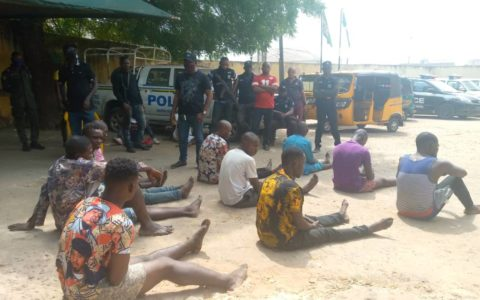 Anambra Police Parade Two Teenagers, 12 Others for Illegal Revenue Collection, Armed Robbery