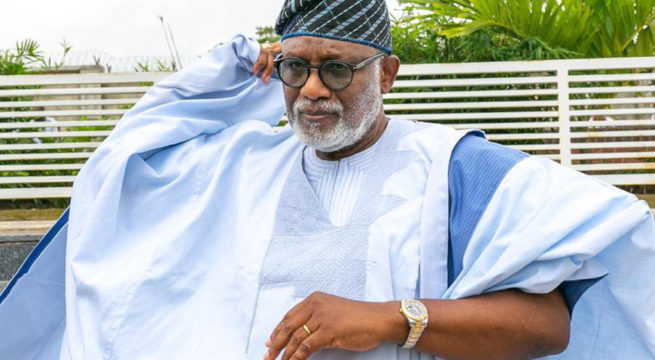 Akeredolu Mourns the Death of Protocol Chief