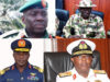 20 Generals Face Retirement as Buhari Names New Service Chiefs