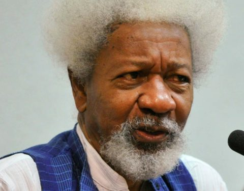 I've Forgiven Americans for Voting Racist Trump —Soyinka