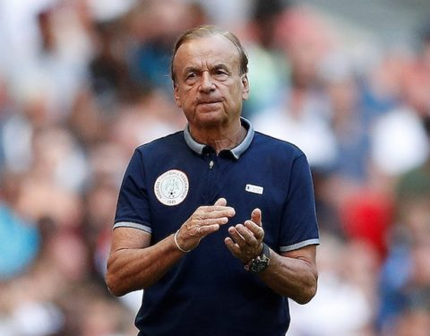 Rohr Set 2021 Targets For Super Eagles