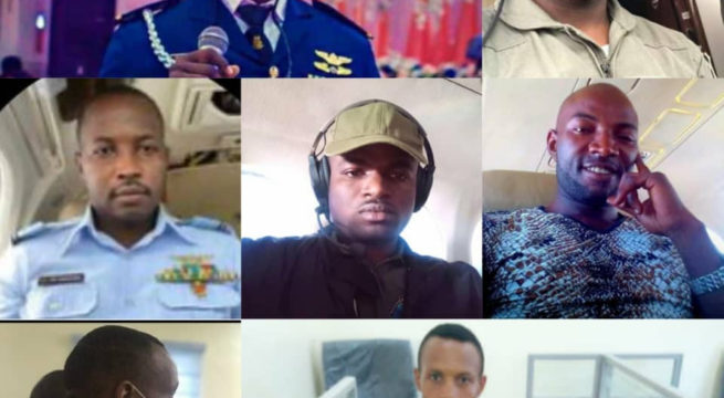 Burial of NAF Officers Commences in Abuja