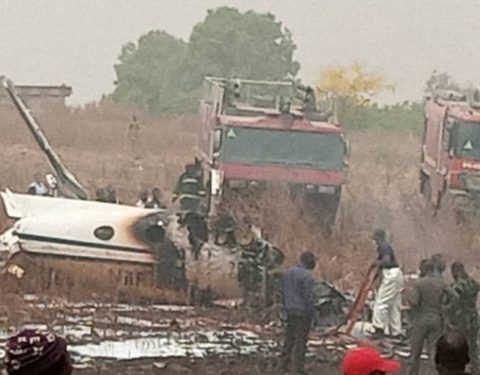 BREAKING: Seven Dead in Abuja Jet Crash – Air Force