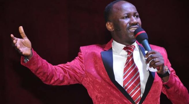 Viral Audio: I'm Sorry For Being Angry - Apostle Suleman