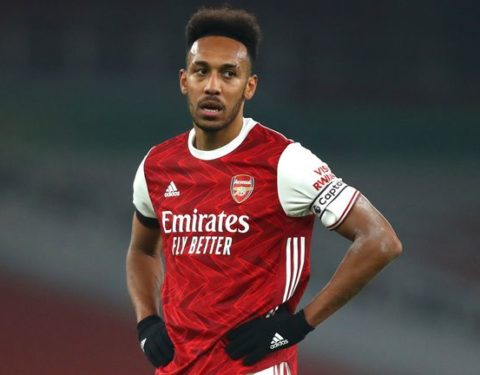 Arsenal Investigates Aubameyang For Possible COVID-19 Protocol Breach