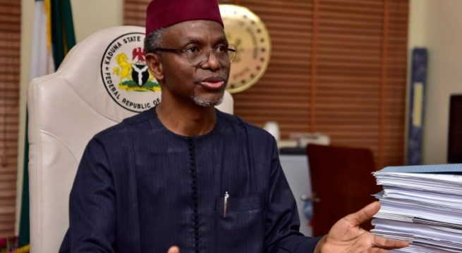 El-Rufai to FG – Give us State police, Resource Control No