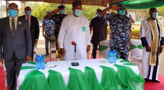 Gov. Ugwuanyi Commissions 272 Special Constables for Community Policing