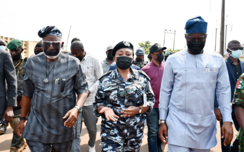 Makinde, Akeredolu Meet Ibadan Market Combative Parties, Seek Peace
