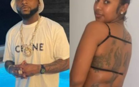 Nigerians React as Singer Davido is Spotted with Mystery Lady