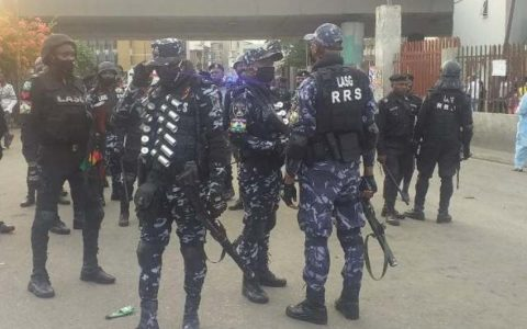 FG Deploys Police, Others to Lekki Tollgate Ahead of Today's Protests