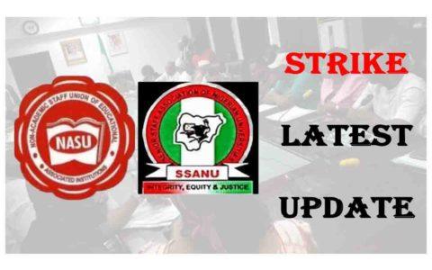 NASU, SSANU Suspend Strike after Agreement with Fed Govt.
