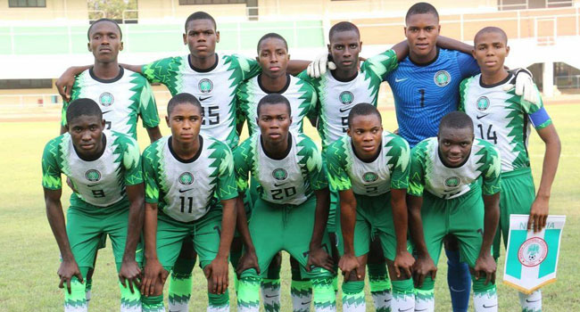U-17 AFCON: Dosu Backs Golden Eaglets to Top Group B