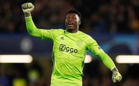 Ajax Goalkeeper Onana Suspended One Year for Doping