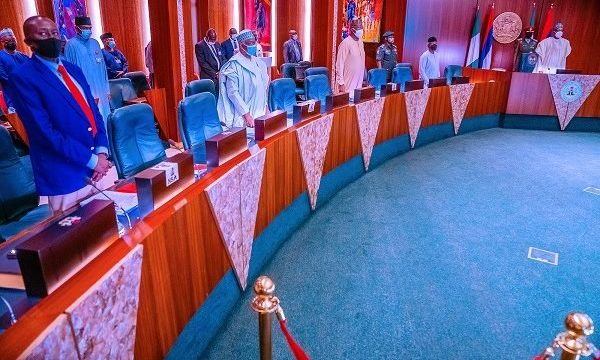 Buhari, Ministers, Security Chiefs hold NSC Meeting