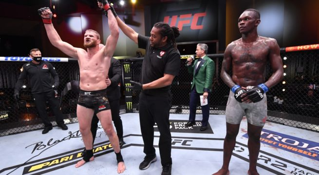 UFC: Blackchowicz Hands Adesanya First Career Defeat to Retain Heavyweight title