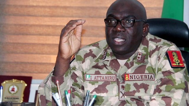 Reps Meet Chief of Army Staff Over Threats of Breakup