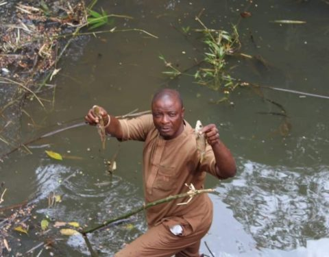 Nvuna River contamination Causes Water Scare in Enugu as Govt Pays Fact-finding Visit
