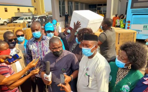 Enugu, Ebonyi, Anambra Take Delivery of COVID-19 Vaccine
