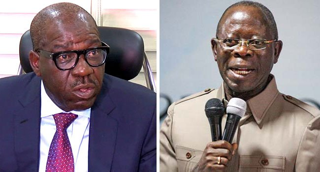 Obaseki meets Oshiomhole, says No Grudge against Him