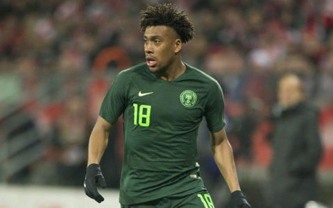 Iwobi Savours Super Eagles Win Against Lesotho
